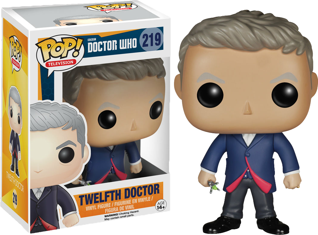 Doctor Who 12th Doctor Pop Vinyl Figure Solaris