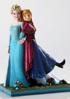 FROZEN ANNA & ELSA FIGURINE