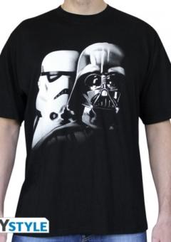 star wars tshirt vader troopers